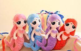 $enCountryForm.capitalKeyWord NZ - 30cm Lovely Mermaid Princess Doll Baby Sleeping Appease Animal Stuffed Doll Plush Toys Birthday Christmas Gifts