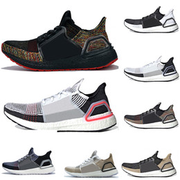 026ae5ce61 Cheap 2019 Ultra Boost 19 Laser Red Refract Oreo mens running shoes for men  Women UltraBoost UB 5.0 Rainbow Sports Sneaker Designer Trainers