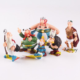$enCountryForm.capitalKeyWord Australia - Gaul Hero Adventures Ancient European Soldiers Action Figure Toy 4.5~8 cm The Adventures of Asterix and Obelix