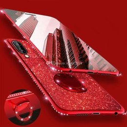 mate plate NZ - Fahion Luxury Bling Diamond Phone Case For Huawei Mate 20 Lite Plating Glitter Soft Cover on Huawei P20 Lite P30 Pro Honor 8X 7X 9 Case