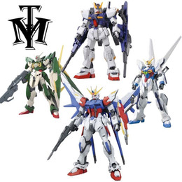 hot wings toys Australia - Anime Gaogao 13cm Hg 1 144 Wing Gundam Fenice Xxxg-01wf Model Hot Kids Toy Action Figuras Assembled Phoenix Robot Puzzle Gift J190719