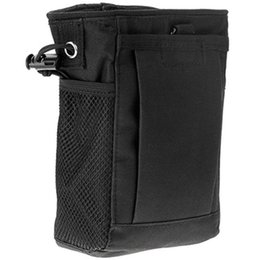 Magazine duMp pouch online shopping - Molle System Hunting Magazine Dump Drop Pouch Recycle Waist Pack Ammo Bags Hunting Accessories Bag