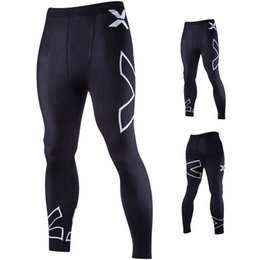 $enCountryForm.capitalKeyWord Australia - New Designer Mens Pants Summer Sport Long Pants for Men with X Printing Pattern Casual Fitness Pant Skinny Mens Clothing M-2XL