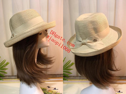 cf87addd0db Man Women Straw Hat Summer Beach Hats Children And Adult Size Flat Top  Straw Hat Men Boater Hats Flat Bowler Hat off-w8