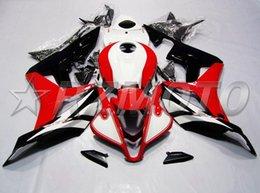 Honda F5 Australia - New Injection Mold Motorcycle ABS Full Fairings kit Fit for HONDA CBR600RR F5 2007 2008 07 08 600RR CBR600 Fairings set nice white black red