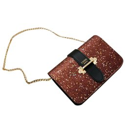 Handbags Bling Australia - Women Bags Girls Retro Female Bling Sequins Crossbody Shoulder Handbag bolsos mujer sac a main femme de marque soldes woman bag
