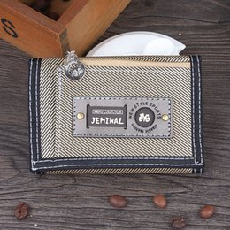 $enCountryForm.capitalKeyWord Australia - Good Quality Men Wallets Canvas Fabric Short Clutch Purses Male Moneybags Coin Purse Pocket Wallet Cards Id Holder Bags Notecase