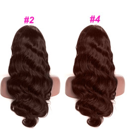 $enCountryForm.capitalKeyWord Australia - Human Hair Lace Front Wigs Colored Brown Body Wave Lace Front Human Hair Wigs For Black Women Brazilian Body Wave 13x6 Lace Wig