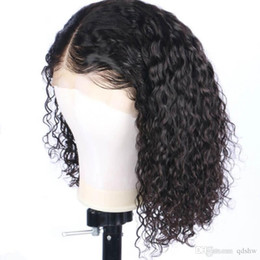 Big Black wigs online shopping - Transparent Full Lace Wigs Invisible HD Lace Virgin Hair Pre Plucked Brazilian Curly Lace Front Wig Free Part For Black Women