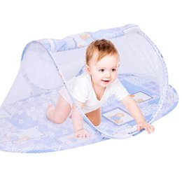 $enCountryForm.capitalKeyWord Australia - New Style Portable Newborn Baby Bed Mosquito Net Multifunctional Children's Folding Mosquito Infant Tent