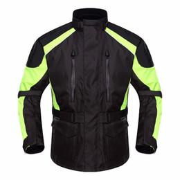 Motorcycle Clothing Jacket Motorbike NZ - DUHAN D-087 Motorcycle Jacket Upgrade Waterproof Motorbike Long Travel Racing Jackets Rally Clothing Protector Warm Lining