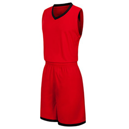 $enCountryForm.capitalKeyWord UK - 2019 New Blank Basketball jerseys printed logo Mens size S-XXL cheap price fast shipping good quality Red Black RB013