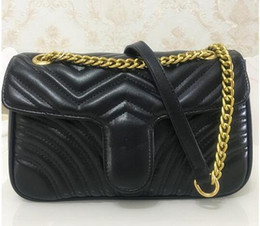 Color Leather Bags Australia - High Quality Famous designer Shoulder bag Pu leather Fashion chain bag Cross body Pure color Female women's handbag shoulder bag