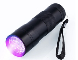 ultra violet lamp Australia - Hot sale! 12 LED UV Flashlight Ultra Violet Camp Lamp Torch Anti-fake UV Flash Light LLFA