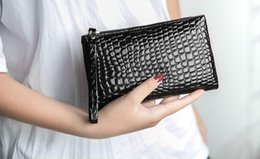 Discount women clutch trends - wholesale New women's Korean version Fashion trend handbag Shoulder Messenger Bags Clutch Coin Purse Mobile phone b