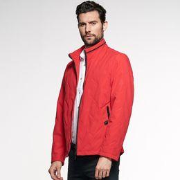 Men New 2019 Spring Autumn Cotton Classic Jacket Coat Men Brand Design  Outfits Smart Leisure Pattern Solid Jacket Coat 5XL 6c8af99476a0