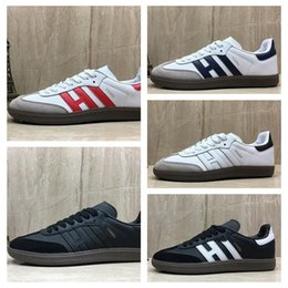$enCountryForm.capitalKeyWord Australia - New Samba Rose OG High Quality Running Shoes For Men White Pink Blue Black Sambarose Sneakers Fashion Luxury Designer Women Shoes 36-45