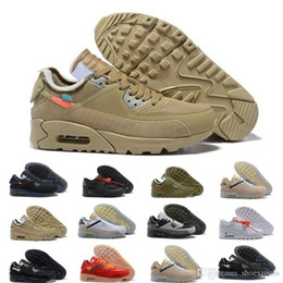 Discount mens gym training shoes Mens 2018 Running Shoes Sneakers off Desert Ore Brown Fashion Designers Luxury Classic it 90s 1 87 Discount Training Spo