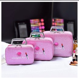 Gold Boxing Trunks Australia - Cosmetic Bag Case For Make up S M L Professional Cosmetics Pouch Bags Beauty Case For Makeup Artist Travel Storage Box Bag #251139