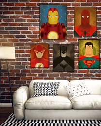 More Painting One Australia - Home Decoration superhero Retro Concise Canvas Oil Paintings Wall Painting On Art Picture Pictures For Living Room No Frame
