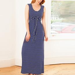 $enCountryForm.capitalKeyWord Canada - Women Maternity Dresses Long Summer Striped Casual Elegant Nursing Dress For Breastfeeding Pregnant Clothes Vetement Femme 19may