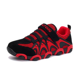 sneakers running shoes air UK - 2018 New Unisex Child Running Shoes Kids Trainers Boys Sport Girls Sneakers Mesh Breathable Tpr Anti Slip Outsole