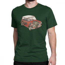 Discount classic car novelties - mens designer clothes brand polo Austin Mini Classic 1275 Car Novelty T Shirts Man Short Sleeve Tops Comfortable Tee Shi