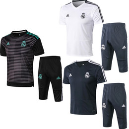 best training shirt UK - Best sale new 18 19 season Real Madrid jacket Bell short sleeves T-shirt 2018 2019 tracksuits soccer jersey hazard benzema training shirt