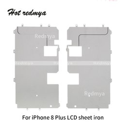 Backplate iphone online shopping - New Lcd Digitizer Metal Backplate big Shield Bezel For iPhone Plus p LCD Big Iron Plate Repair Parts