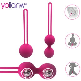Wholesale Exercise Products Australia - Female Smart Ball, Kegel Ben Wa Ball,Vaginal Tight Exercise Vibrator, Vibrators Vaginal Ball Sex Toys for Women Sex Product C18122801