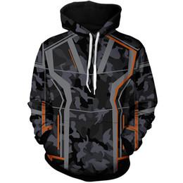 $enCountryForm.capitalKeyWord UK - 2018 Fashion Mens Hoodies for Avengers Iron Man Tony Stark Cosplay Coat Zip Up Jacket Sweatshirts Costumes Plus Size