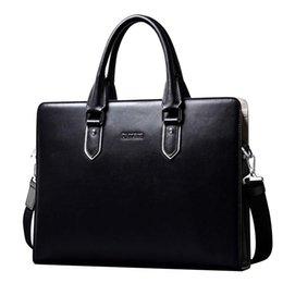 $enCountryForm.capitalKeyWord Australia - New Best Europe and America high quality design real leather business briefcase men handbag fashion messenger bag black blue optional