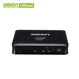 $enCountryForm.capitalKeyWord Australia - Bben MN11 windows 10 OS Atom Cherry Trail X5 Z8350 compute TV Box player 2GB 32GB 4GB 64GB wifi mini pc computer black