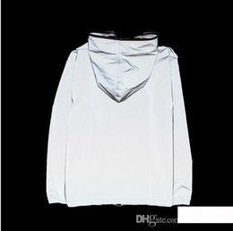 $enCountryForm.capitalKeyWord Australia - S-4XL NEW fashion 3m reflective jacket men women harajuku windbreaker jackets hooded streetwear coats 3m jacket windbreakers
