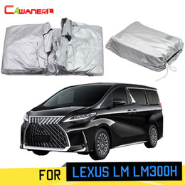 protection lock 2019 - Cawanerl Full Car Cover Sunshade MPV Outdoor Sun Rain Snow Dust Protection Cover With Anti-Theft Lock For LM LM300H disc
