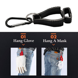 keepers gloves UK - 3PCS Portable Work Glove Clip Holder Hanger Multifunctional Safety Fastener Hook Accessories Clamp Keeper For Outdoors Working