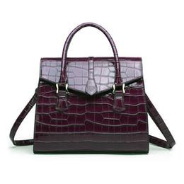 Classic Ladies Handbags NZ - good qualityNew Women's Bag Classic Wild Crocodile Pattern Ladies Handbags Style Cross-border Fashion Single Shoulder Messenger Bag