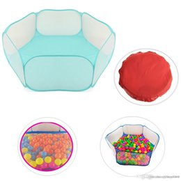 $enCountryForm.capitalKeyWord Australia - Wholesale-Hot sale Kids Play Game House tent Pool Children Tent Ocean Ball Pool Baby Educational Toys Outdoor Fun Sports Lawn Game
