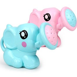 $enCountryForm.capitalKeyWord Australia - New Cute Elephant Watering Pot Baby Bath Toy Beach Play Water Sand Tool Toys