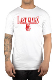 Tyga Clothes Australia - Tyga Last Kings T-Shirt Rap YMCMB Rack City Young Money Clothing Hip Hop Drizzy Funny 100% Cotton T Shirt Classic Quality High t-shirt
