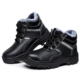 $enCountryForm.capitalKeyWord Australia - large size men casual winter warm plush steel toe caps working safety shoes cow leather cotton shoe security ankle snow boots
