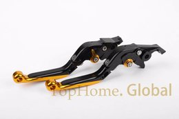$enCountryForm.capitalKeyWord Australia - For Bajaj Pulsar 200 NS Foldable Extendable Brake Clutch Levers Black & Gold CNC Adjustable Folding Extending NS200