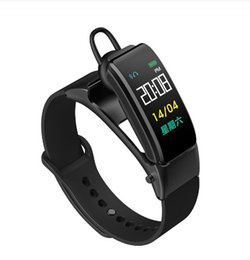 B31 Smart-Reden Armband Bluetooth Kopfhörer Band Fitness Tracker Heart Rate Monitor Smart-talkband Smart-Armband