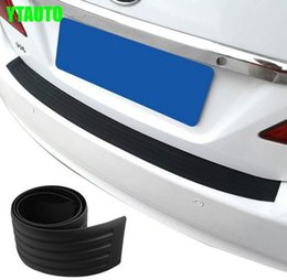 $enCountryForm.capitalKeyWord UK - Auto rear bumper rubber protector strip for vw Golf 7 Golf 6,bora,passat B6 B7 B8,jetta, car styling