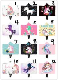 BathroBe faBrics online shopping - 21 Styles Unicorn Blanket Wearable Fleece Blankets unicorns Throw Blankets Cartoon Unisex Wearable Warm Bathrobe Unicorns New Year s Gift