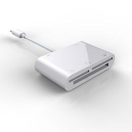 $enCountryForm.capitalKeyWord Australia - SD TF SDHC CF XD M2 Memory Card Reader for IPhone XS MAX XR X 5 6 7 8 Plus for IPAD OTG Adapter USB Camera Connection Kit Writer