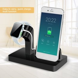 $enCountryForm.capitalKeyWord Australia - Onleny Best Portable 2 In 1 Dock Charger Holder Iwatch Iphone Desktop Phone Charging Stand For Apple Series