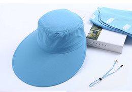 $enCountryForm.capitalKeyWord NZ - Summer anti-uv sun hat new ladies driving face protection hat with large brim fast dry cloth sunscreen cap