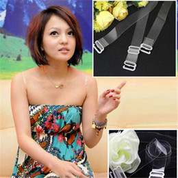 WEDDING PAGEANT Summer Silicone Clear adjustable bra straps