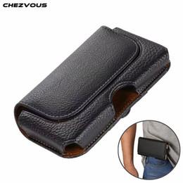 $enCountryForm.capitalKeyWord Australia - CHEZVOUS Mens Universal Belt Clip Holster Waist Pack for iPhone 3G 4 4s 5 5s SE 6 Mobile Phone Bag Case for iPhone X 7 8 6 6s